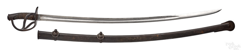 Tiffany & Co. cavalry saber and scabbard