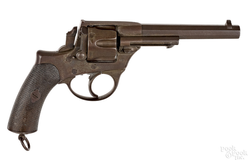 Belgian Pirlot Freres Liege double action revolver