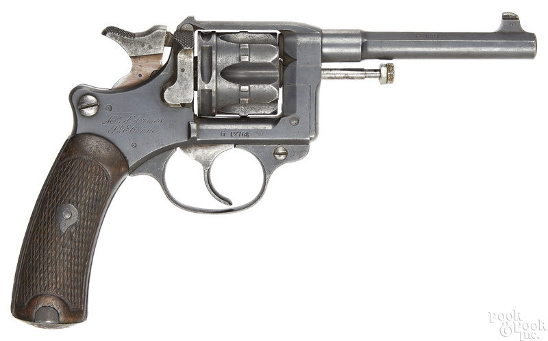 French model 1892 double action revolver