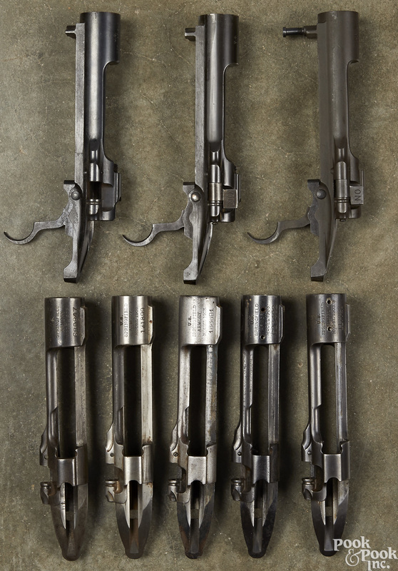 Eight Springfield 1903 receivers