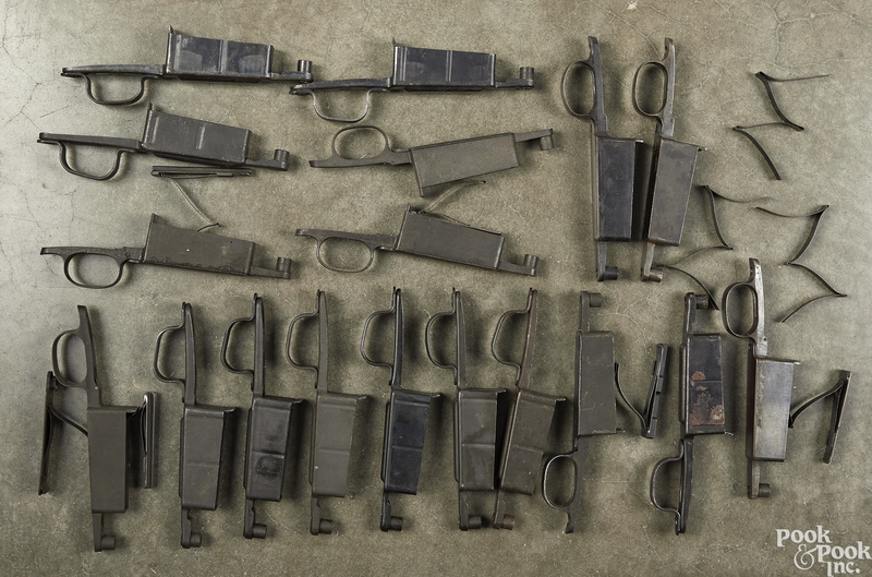 Eight 1903 and ten 1903-A3 trigger guards