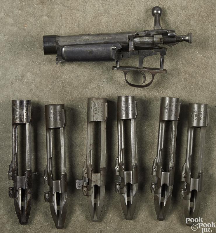 Six Springfield 1903 receivers