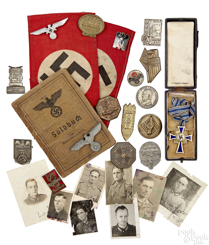 Collection of German Nazi items