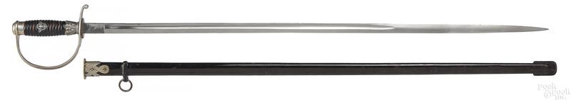 WWII German Nazi police degan sword and scabbard