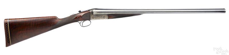 E. J. Churchill double barrel shotgun