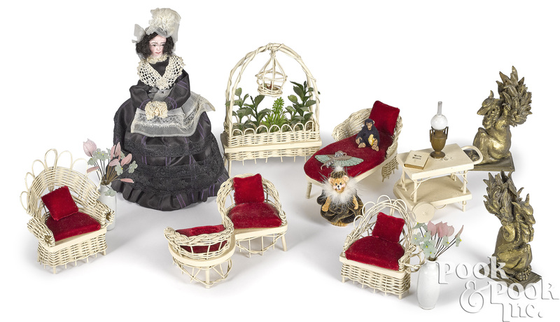 Artisan doll and miniatures