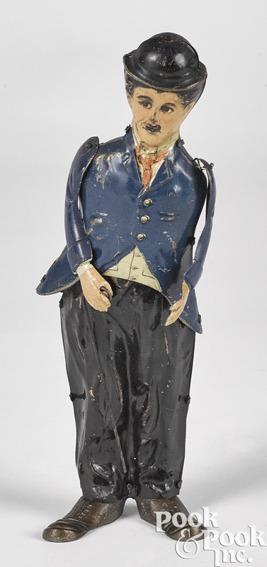 Gunthermann tin clockwork Charlie Chaplin