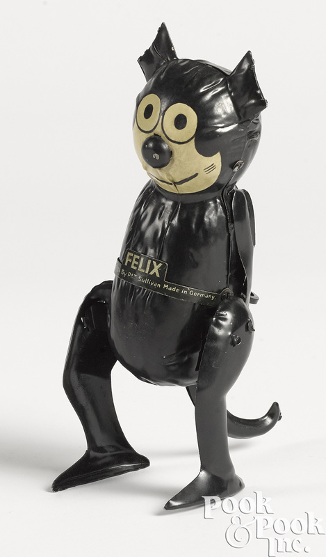 Gunthermann clockwork walking Felix the Cat