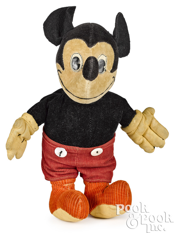 Character Novelty Co. Mickey Mouse doll