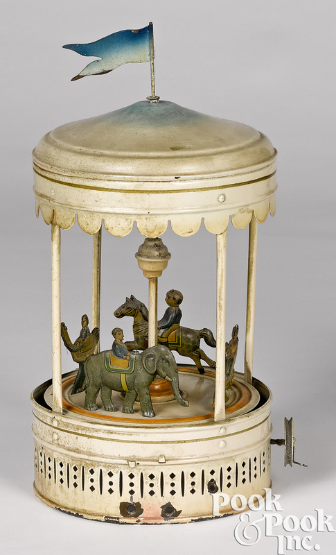 Bing carousel steam toy accessory #10/295 and 296