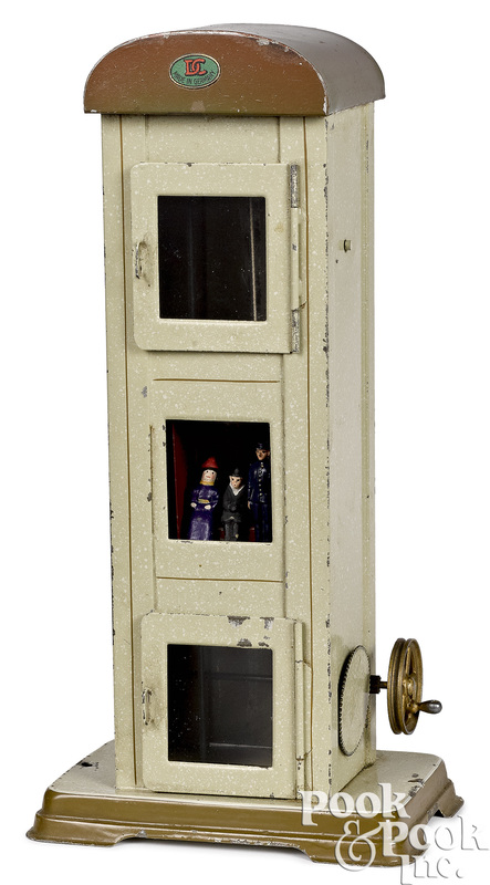 Doll & Cie elevator steam toy accessory