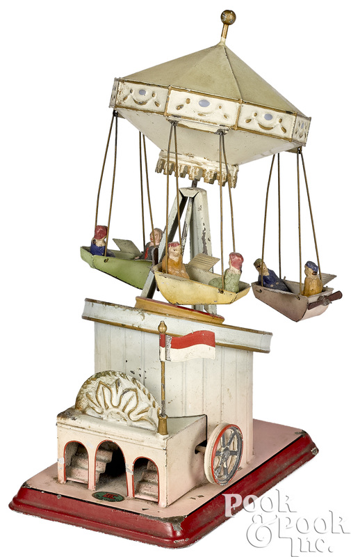 Doll & Cie flying carousel steam toy accessory