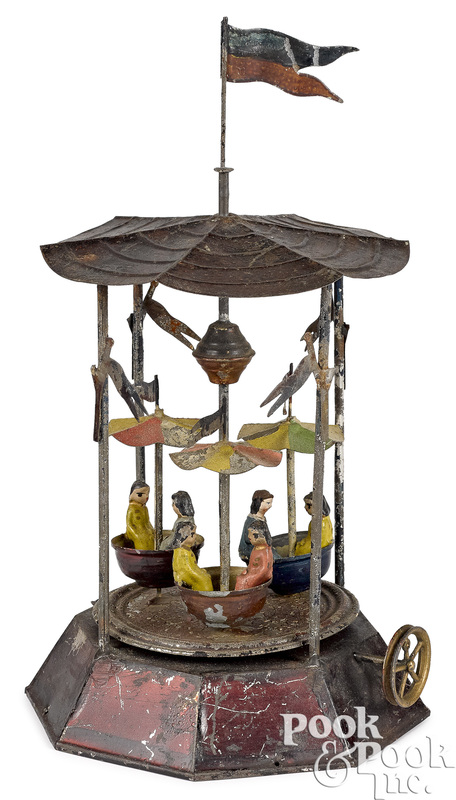 Carousel steam toy accessory