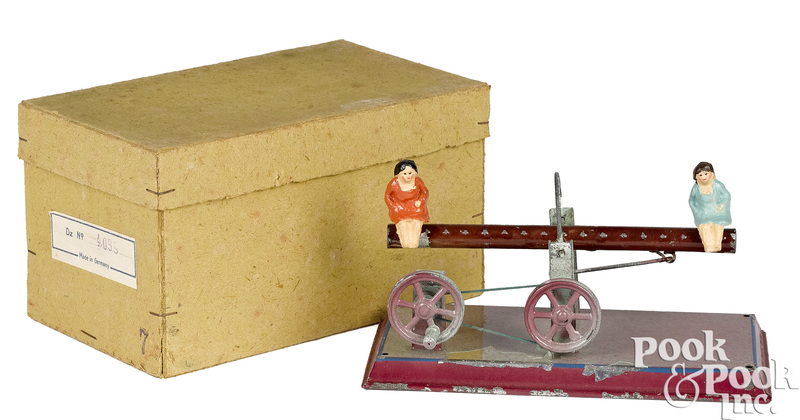 See-saw steam toy accessory
