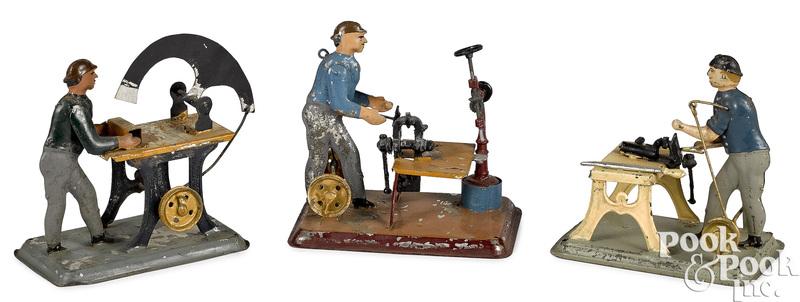Wunderlich tin workmen steam toy accessories