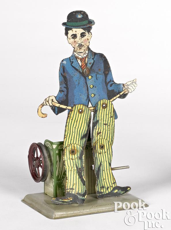 Wilhelm Krauss Charlie Chaplin slate dancer