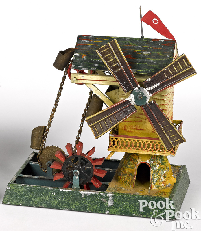Doll & Cie windmill steam toy accessory