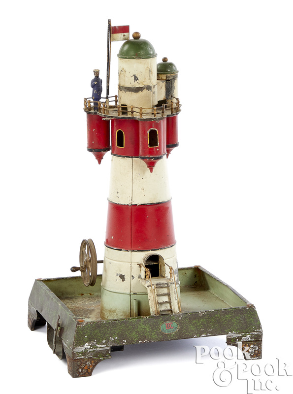 Doll & Cie lighthouse steam toy accessory