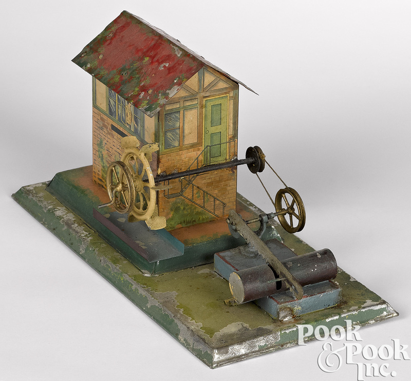 Sawmill steam toy accessory