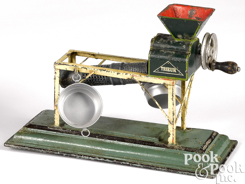 Marklin painted tin sorter steam toy accessory