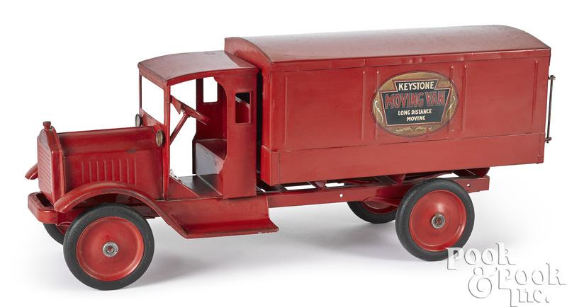 Keystone pressed steel moving van