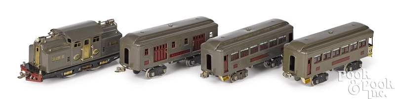 Lionel four-piece train set