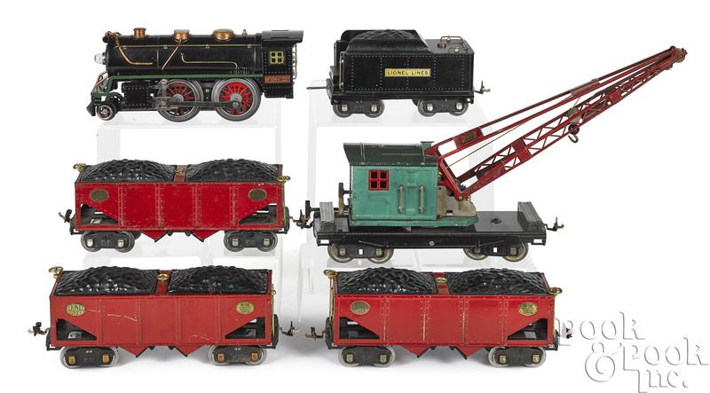 Lionel six-piece train set