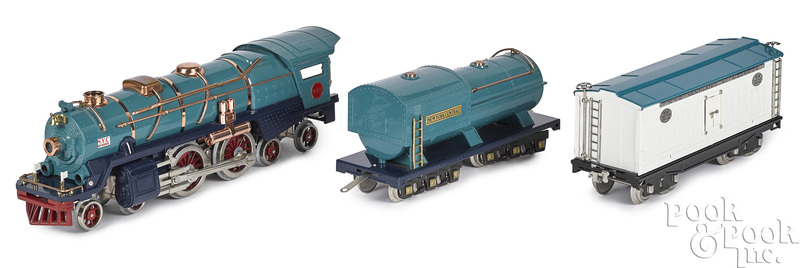 MTH contemporary Lionel Blue Comet locomotive