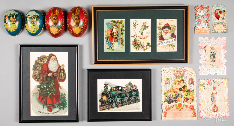Group of holiday items