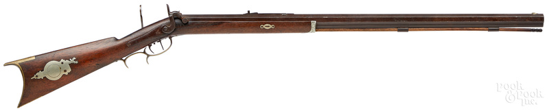 George Spangler half stock percussion rifle