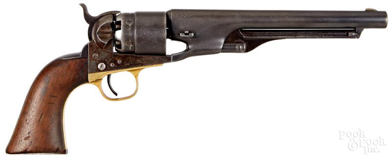Colt model 1860 single action Army revolver