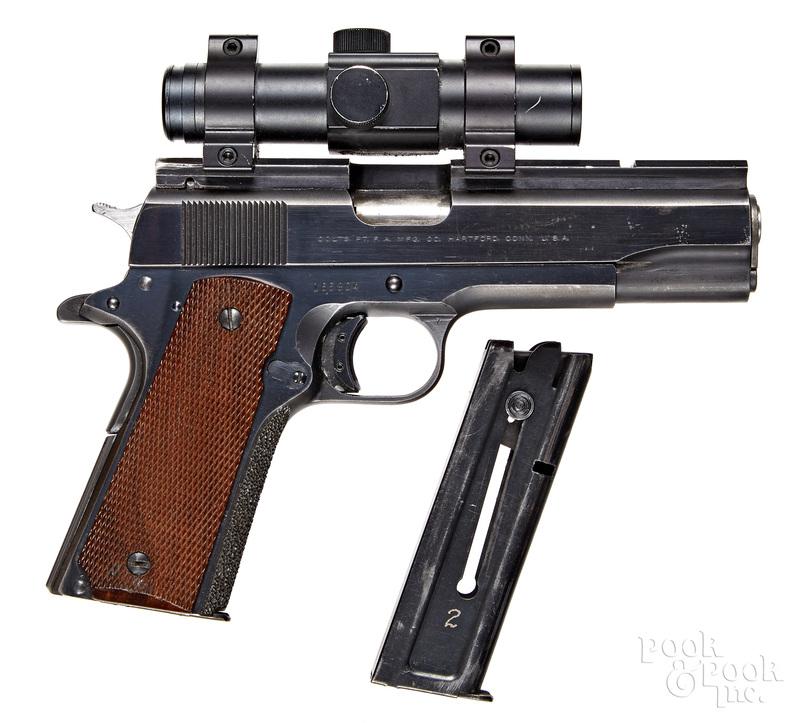Colt Government model 1911 semi-automatic pistol