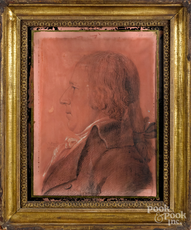 Thomas Valdenuit (American 1763-1846) portrait