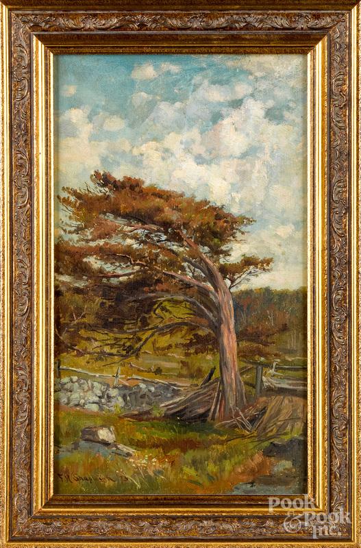 Frank Henry Shapleigh (American 1842-1906) landscape