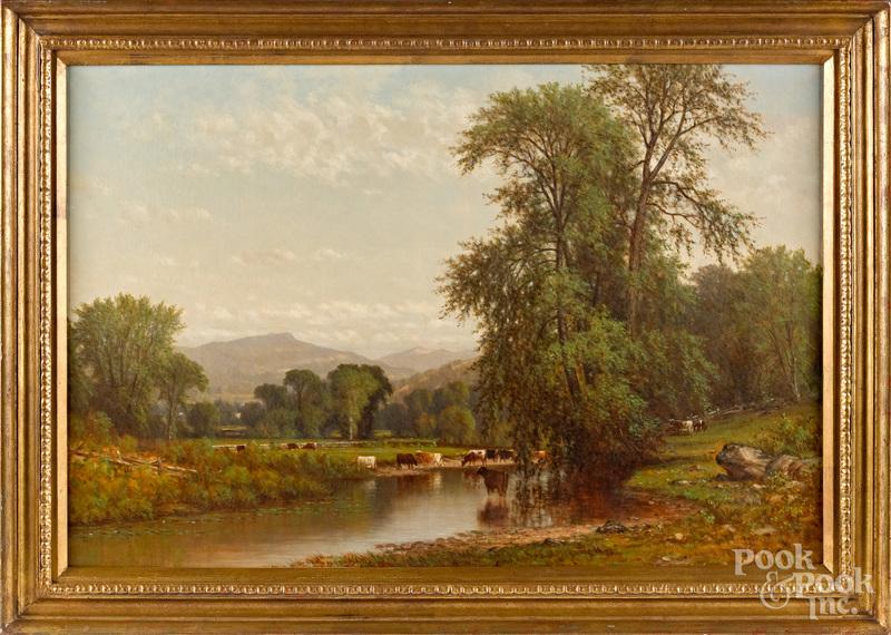 John Pope (American 1821-1880) landscape
