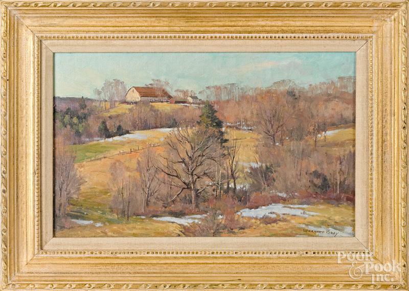 Bernard Corey (American 1914-2000) landscape