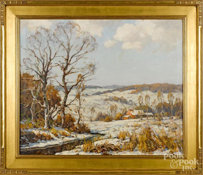 Walter Hartson (American 1866-1946) landscape