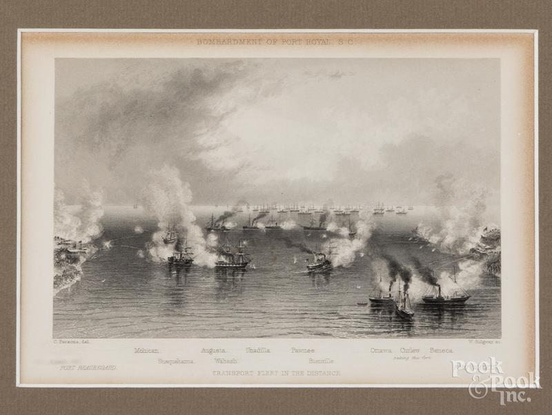 Two William Ridgeway etchings