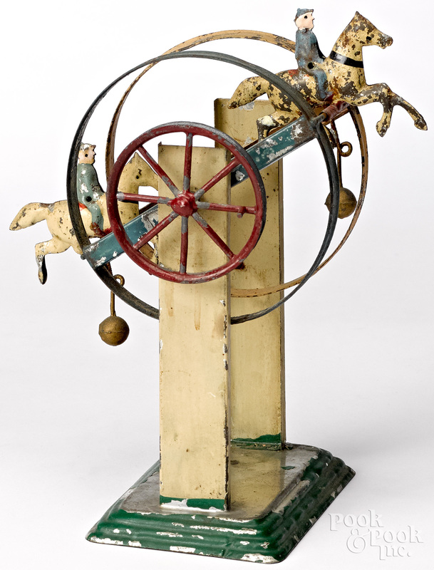 Horse and rider Ferris wheel steam toy accessory