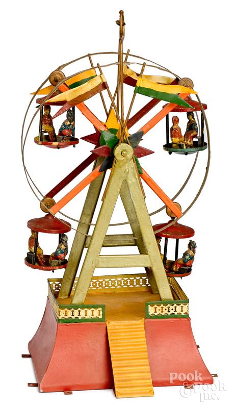Ferris wheel steam toy accessory