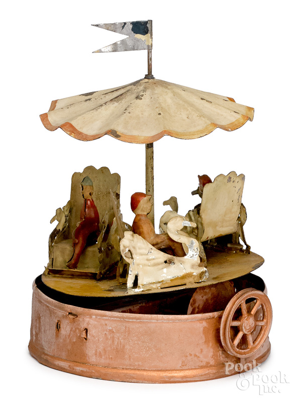 Zschopau School carousel steam toy accessory