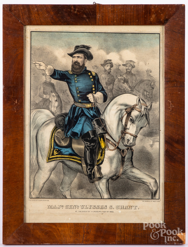 Currier & Ives Ulysses S. Grant lithograph