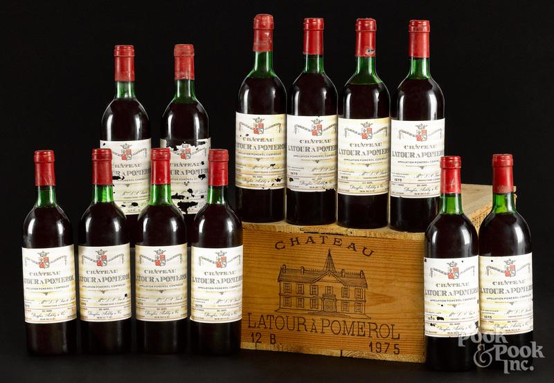 Chateau Latour A Pomerol 1975, 12 bottles