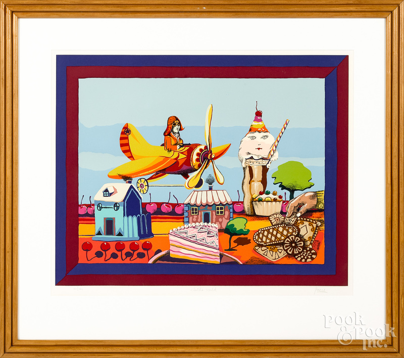 Peter Paone limited edition signed lithograph