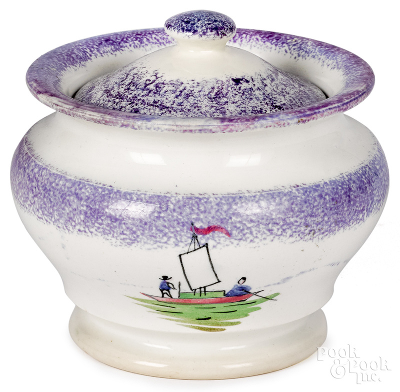 Rare purple spatter covered sugar