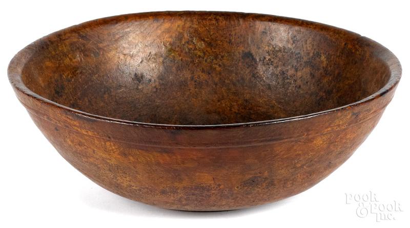 New England burl bowl