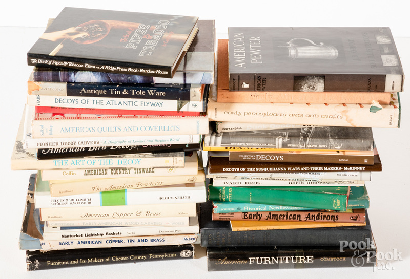 Antique reference books, to include Chester Coun