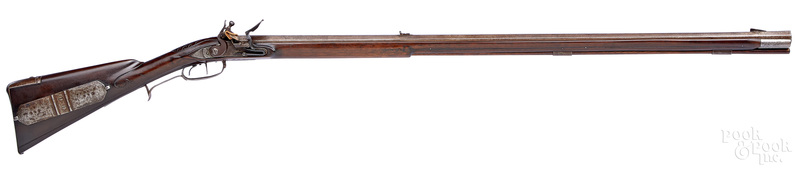 Contemporary Hershel House flintlock long rifle