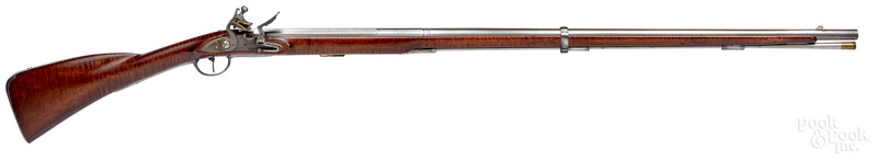 Contemporary flintlock rifle