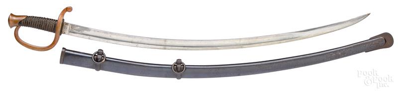 Ames Mfg. Co. Civil War m1840 artillery sword